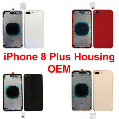 OEM Replacement Back Housing Frame Battery Door Cover Fits Apple iPhone 8 Plus