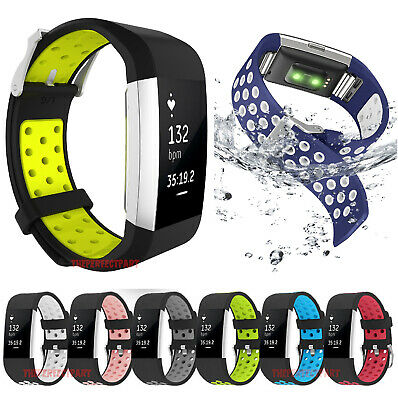 Replacement Silicone Sports Strap Wrist Band Bracelet For Fitbit Charge 2  2 HR