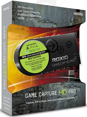Roxio Game Capture HD Pro - Video Capture Device New Retail Box