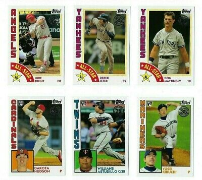 1984 Topps Baseball Insert Complete Your Set 2019 Series 2 You U Pick Choice