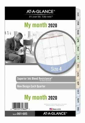 AT-A-GLANCE Day Runner Nature Monthly Planner Refill 5-5 x 8-5 Jan-Dec 2020