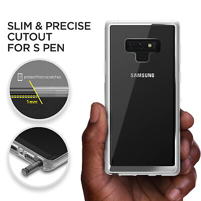 For Samsung Galaxy Note 9 Case VRS® Crystal Chrome Clear Slim Shockproof Cover