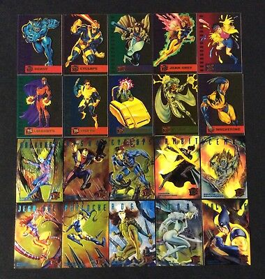 1995 FLEER ULTRA MARVEL X-MEN INSERT CHASE COMIC CARD SINGLES YOU CHOOSE