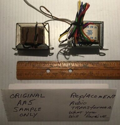 Audio Output Transformer For AA5 Tube Radios Up To 4 Watt 8 Ohms 2 Inch Mount
