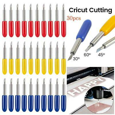 30Pcs Replacement Cutting Blades For Cricut Explore Air 2 Vinyl Cutting Machines