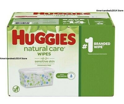 Huggies Natural Care Baby Wipes 56 168 624 1040 2080 Count - FREE EXPEDITED