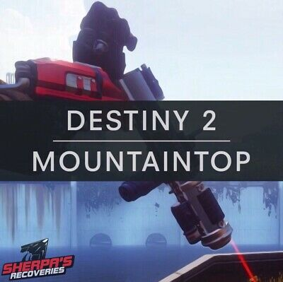 Destiny 2 Mountaintop Quest 24 Hour Delivery PC Xbox - Ps4 With Cross Save