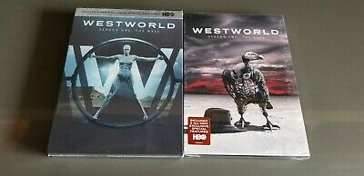 Westworld Seasons 1 and 2 HBO Series DVD Bundle Free Shipping