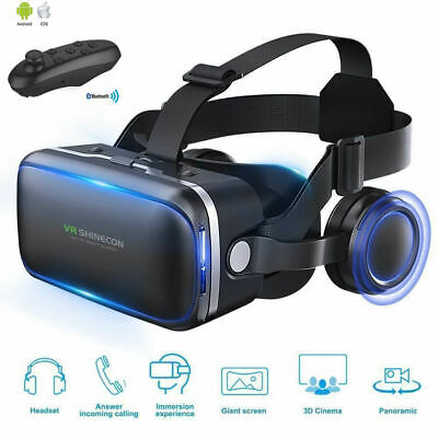 Shinecon 6-0 Casque VR Virtual Reality Glasses 3 D 3d Goggles Headset Helmet