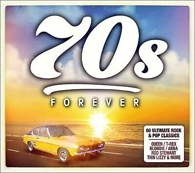 60 Greatest Hits of the SEVENTIES    New 3-CD Boxset   All Original 70s Hits