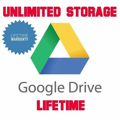 Unlimited Google Drive Storage  For Your Existing Gmail or G Suite