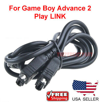 Link Cable For Nintendo Game Boy Advance GBA SP 2 player Linking Connector Cord