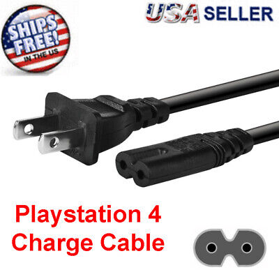OEM AC Power Cord Cable For Original Playstation PS2 PS3 PS4 Slim  Super Slim
