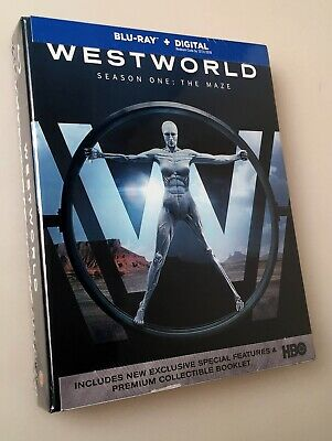 NEW Sealed BLU-RAY -Digital  WESTWORLD Season One 1 Complete HBO Series