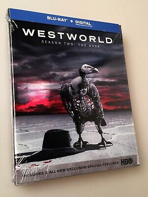 NEW Sealed BLU-RAY -Digital  WESTWORLD Season Two 2 Complete HBO Series