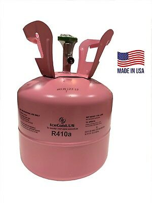 R410a R-410a R 410a Refrigerant 7-5lb tank- New Factory Sealed MADE IN USA