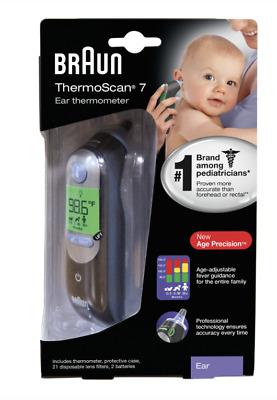 Braun ThermoScan 7 IRT6520 BabyAdult Professional Digital Ear Thermometer
