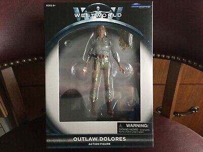 WESTWORLD Diamond Select Outlaw Dolores action figure-EXCLUSIVE-IN HAND