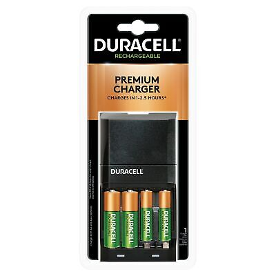 Duracell® Ion Speed 4000 Battery Charger with AAAAA NiMH Batteries