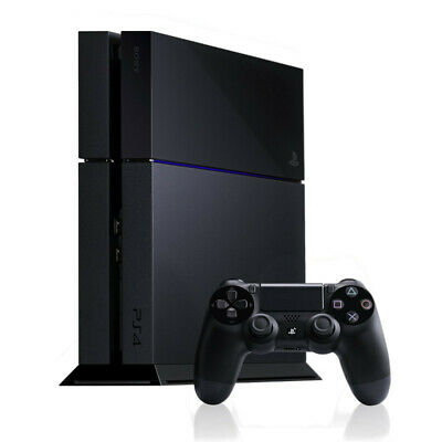 Sony PlayStation 4 1TB Console - Jet Black - Good Condition