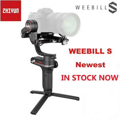 ZHIYUN WEEBILL S 3-Axis Gimbal Handheld Stabilizer For DSLR - Mirrorless Cameras
