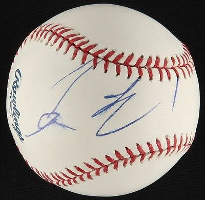 COLIN FARRELL SIGNED OFFICIAL RAWLINGS MLB BASEBALL HOLLYWOOD ACTOR - MOVIE STAR