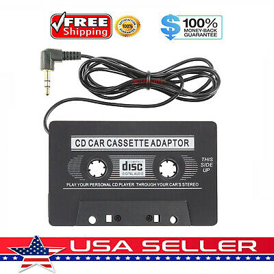3-5mm AUX Car Audio Cassette Tape Adapter Transmitters for MP3 IPod CD MD iPhone