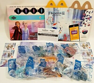 FROZEN 2 🧊 2019 McDonalds Happy Meal Toys 1 - 9 -Sets NOW 💥 STOCK 😁