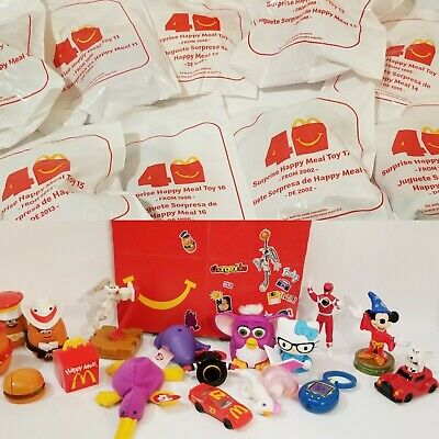 🔥Surprise💥 40th Anniversary 2019 McDonalds Happy Meal Toys 1 ➡ 18 -Sets🔷Box