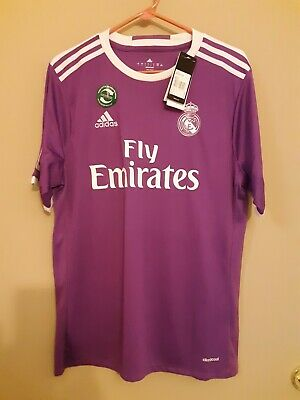 Real Madrid Climacool Breathable Material Adidas Shirt Large New With Tags-