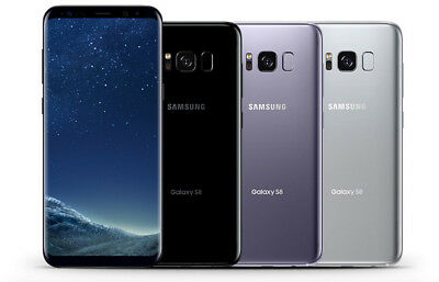 Samsung Galaxy S8 SM-G950U1 64GB T-mobile Verizon AT-T Unlocked B Heavy Shadow