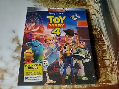 Toy Story 4 DVD 2019 Brand New Free Shipping