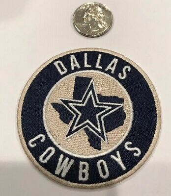 Dallas Cowboys NFL vintage CLASSIC embroidered iron on patch 3x 3