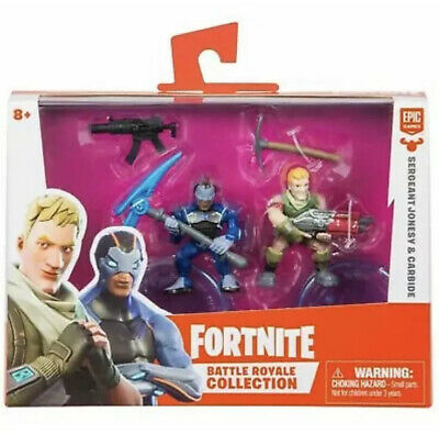 Fortnite Battle Royale Collection Duo Pack SERGEANT JONESY - CARBIDE 2 Figures