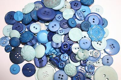Hand Dyed New Buttons in 12 Beautiful ColorMix Lot of 50-Art Crafts -Sewing