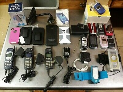 23 Piece Mixed Lot of Cell Phone - iPod Accessories Motorola LG Nokia Samsung