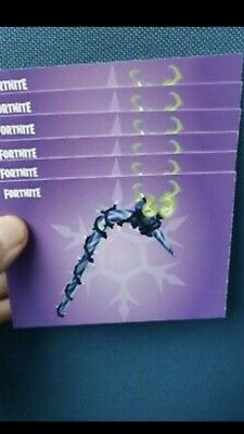 Fortnite Minty Pick Cane Axe code Instant delivery All formats PS4 Xbox Switch