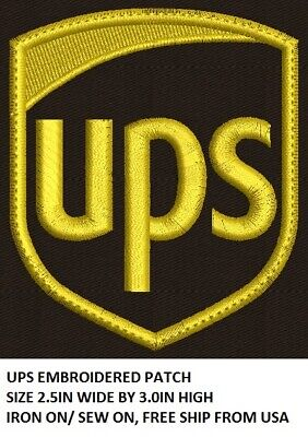 LOVE IT OR ITS FREE UPS EMBROIDERED PATCH IRON ONSEW ON DIY FREE SHIP