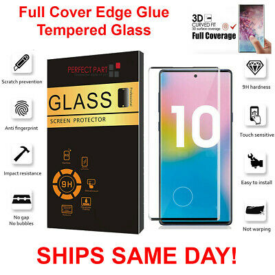 For Samsung Galaxy Note 1010 Plus Full Cover 3D Tempered Glass Screen Protector