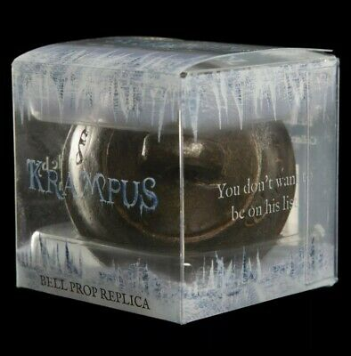 Krampus Bell - Movie Prop Replica - Made by WETA - Brand New in Display Box