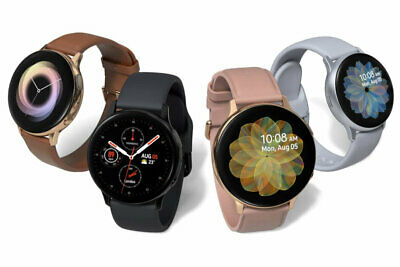 Samsung Galaxy Watch Active 2 SM-R835 40mm Stainless Steel Case Gold  A Stock