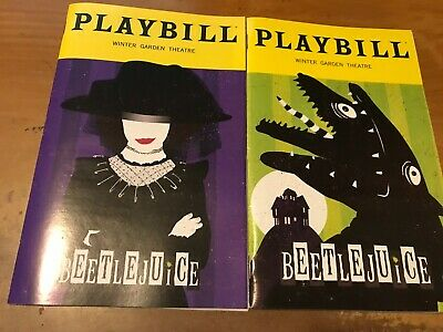 Playbills Wicked 2 Beetlejuice 2 Any 5 Playbills for 20
