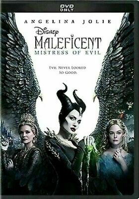 Maleficent Mistress of Evil DVD2019 NEW FREE SHIPPING