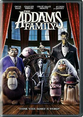 The Addams Family DVD2019 NEW