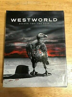 Westworld Season Two The Door Blu-Ray 3 Disc Set Lot Complete