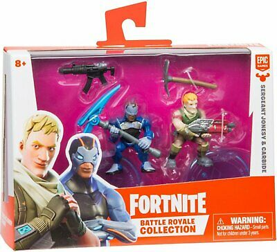 Fortnite Battle Royale Collection Duo Pack Sergeant Jonesy and Carbide