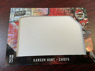 2018 Black Friday Kareem Hunt Huge Patch 25 Chiefs Super Bowl Prizm Player Worn