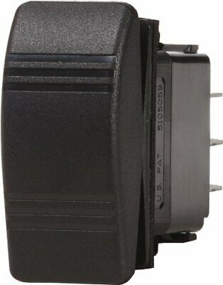 Blue Sea Systems 20789B Blue Sea Systems Contura OFF-ON DPST Switch Black