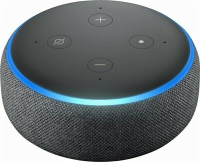 Amazon Echo Dot 3rd Generation w Alexa Voice Media Device - Charcoal