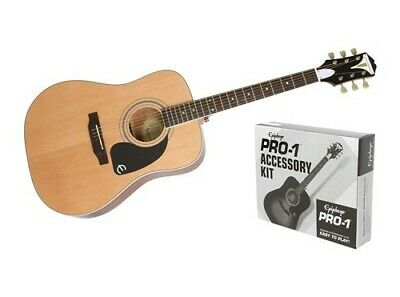 Epiphone PRO-1 Plus Acoustic Guitar with Accessory Kit